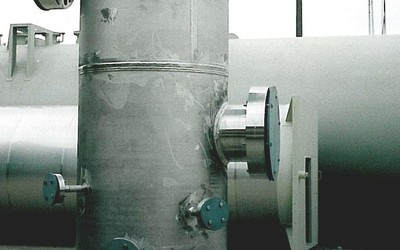 High Pressure Gas Separator (SS 304)